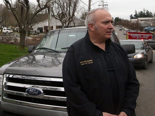 Bainbridge Island Chief of Police Matthew Hamner