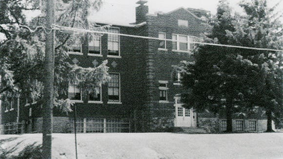 "Carole Haller of Spring Garden Township shared this photo of the front of the former Mount Rose Elementary School. She said she took photos when her daughter, Susan, began her school days there. ""Mount Rose Elementary School consisted of two buildings,"" she wrote. ""The lower grades were housed in the older building facing Mount Rose Avenue and the upper grades, through sixth grade, were in the former high school building that faced Ogontz Street and was located across a playground, in back of the older building. When the older building was demolished in the summer of 1978, all of the students were combined in the remaining building on Ogontz Street. After the 1982 school year, Mount Rose School was closed and students transferred to other schools in the York Suburban School District. The remaining building, still standing, was bought and is being used by a church."""