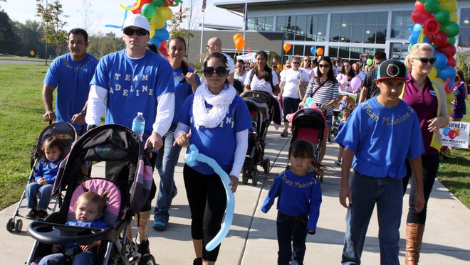 The Clarksville Association for Down Syndrome prepares for its 5th annual walk at Liberty Park this Saturday. The Community CARES Walk & Expo raises funds to help promote Clarksville's special needs community.