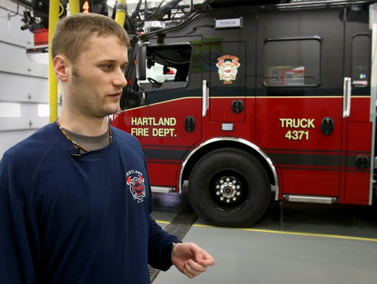 Special staff at Hartland Fire Department