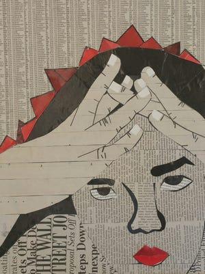 Work by Samantha Dina of Coronado High School.