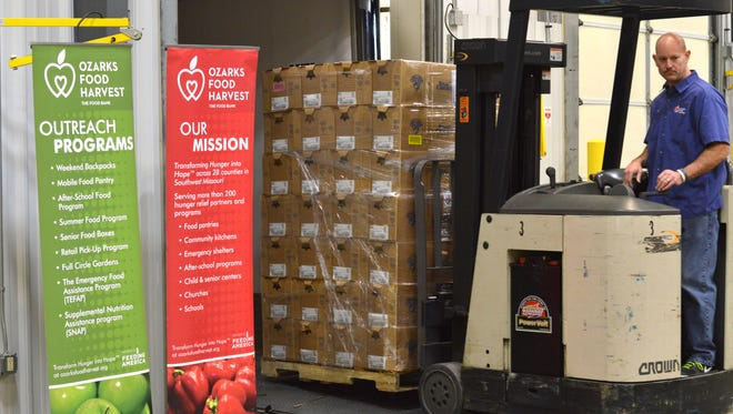 """""""For the past fourteen years, it's been a blessing to receive a donation from Smart Chicken. This will allow us to provide nutritious, high-quality protein to families struggling with hunger in the Ozarks,"""" said Bart Brown, president and CEO of Ozarks Food Harvest."""