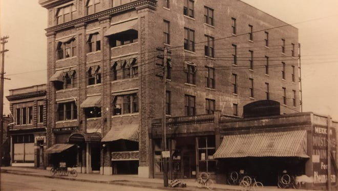Officials broke ground for The Greenville News building on May 28, 1913, and the Peace Printing Company moved into the ground floor the following February.