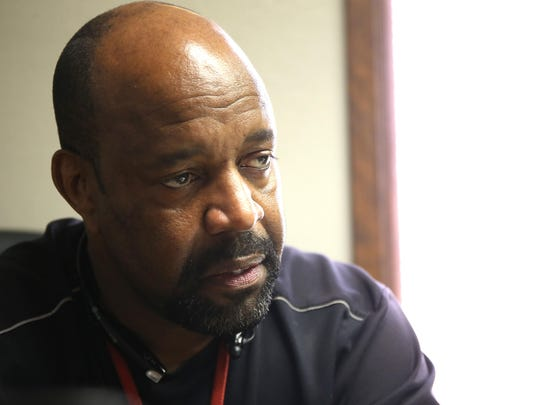 """David Goodson, a Waterloo native who in the last 25 years has evolved from a felon to one of the African-American community's social services activists, said he's surprised the city has even two black police officers. """"I don't know what person in their right mind would go into such a hostile culture voluntarily,"""" Goodson said. """"There is a police culture that every American knows about — particularly black Americans,"""" he said."""