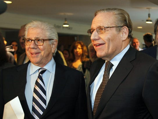 Pulitzer Prize-winning journalists Carl Bernstein,