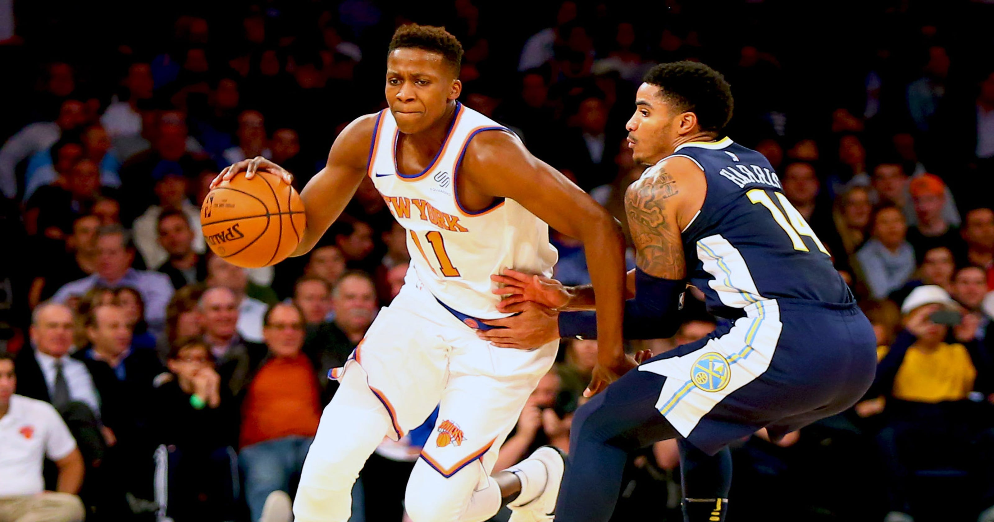 0cf1761d857 Knicks back Frank Ntilikina against LeBron critique