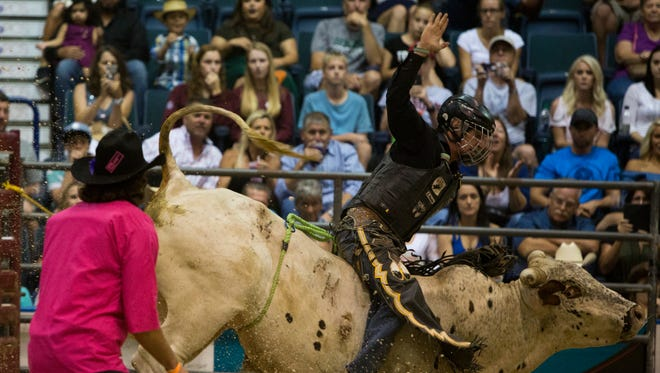 Scenes from PBR's Big Bull Tour event at Germain Arena on July 30, 2016.