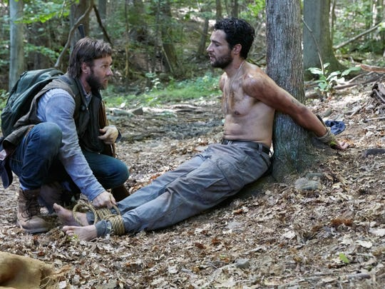 """Joel Edgerton and Christopher Abbott in """"It Comes at Night."""""""