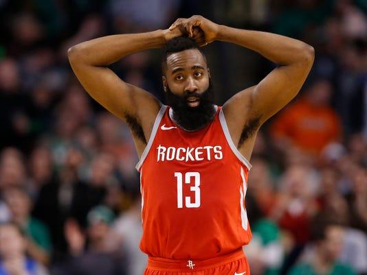 NBA: Houston Rockets at Boston Celtics