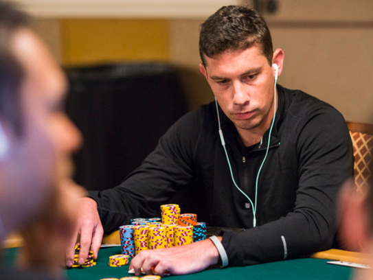 Casey Carroll didn't go crazy after his first big poker