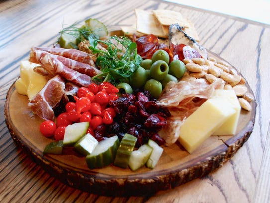 House charcuterie and cheese board at Deacon's New