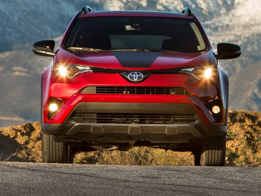 toyota rav4 gets sportier with adventure version. Black Bedroom Furniture Sets. Home Design Ideas