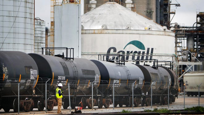 Cargill once employed 440 people at the Presidents Island site, before shutting down sweetener production there in early 2015.