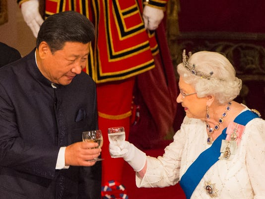 Queen China state visit