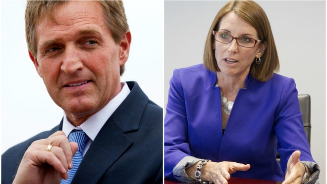 Sen. Jeff Flake and Rep. Martha McSally
