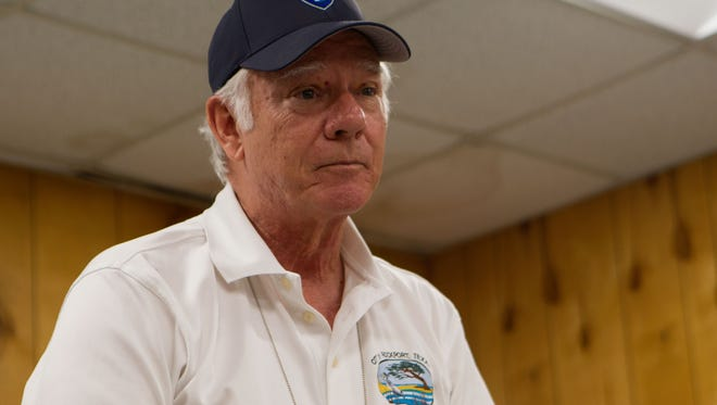 Rockport Mayor C.J. Wax said 35 percent of his city was destroyed and will never be rebuilt.