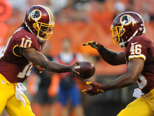 NFL: Preseason-Washington Redskins at Cleveland Browns