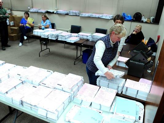 Minnehaha County Ballot Counting