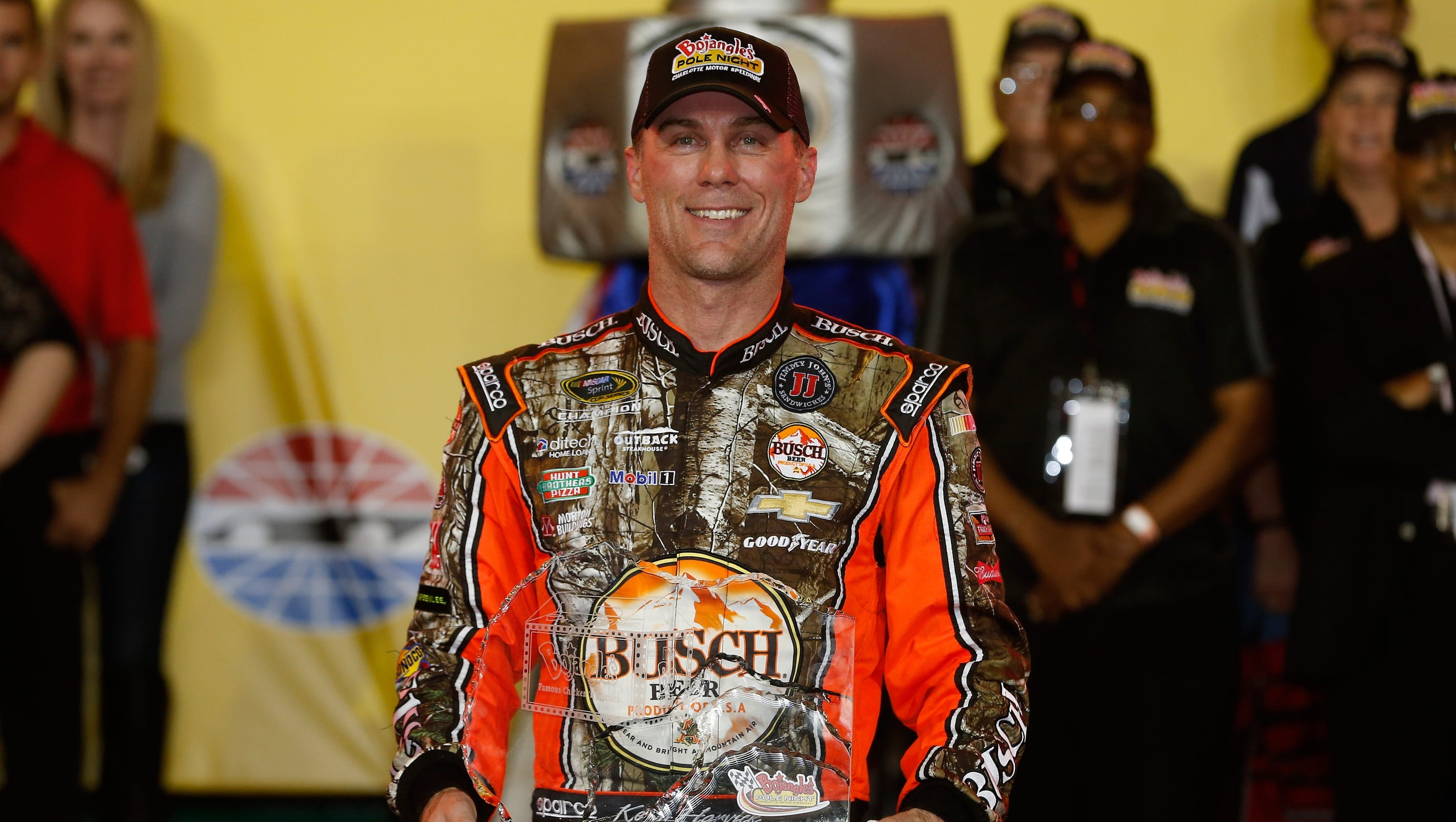 Kevin Harvick And: Kevin Harvick Wins Pole As Second Round Of Chase Begins
