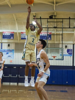 Eastern Randolph's Osiris Ross, shown here in action during the 2019-20 season, scored 20 points in the Wildcats' win over previously undefeated Randleman on Friday. [PJ Ward-Brown for The Courier-Tribune]