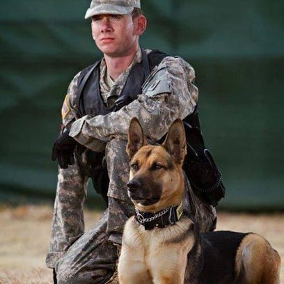 002-Sgt Rowan-withHandler-pic