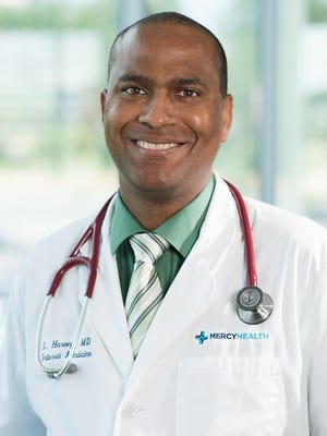 Internal medicine specialist Dr. Lawrence Harvey joins Mercy Health Physicians.