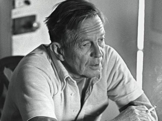 John Cheever at home in Ossining