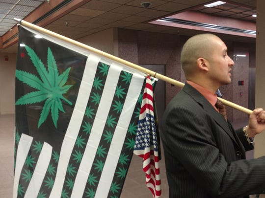 Pierre Andre Euzarraga is in favor of the First Chance program and hopes that marijuana is legalized some day in Texas.