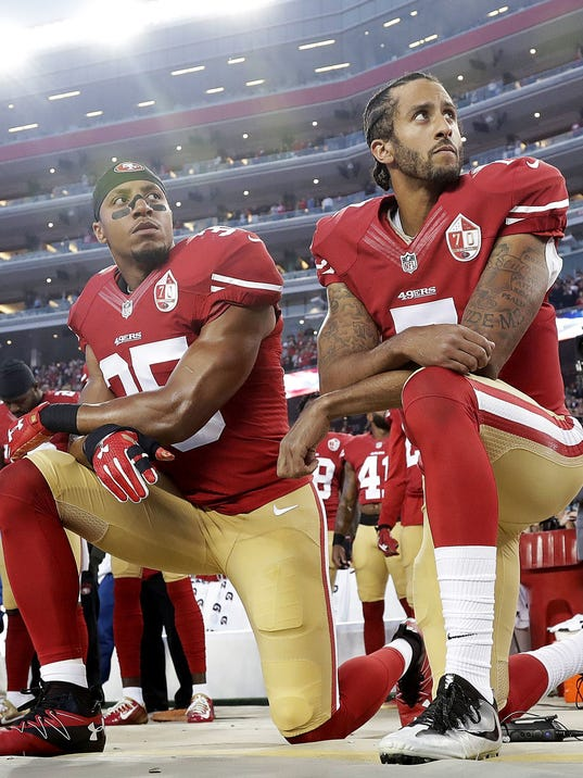 AP ANTHEM-COSTS OF PROTESTS FOOTBALL S FBN FILE USA CA