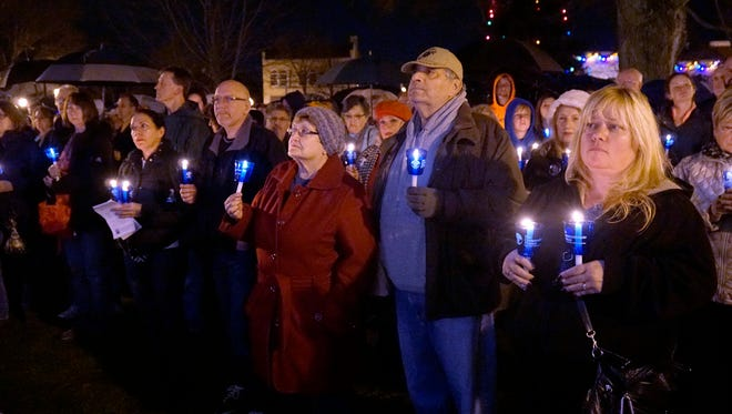 Kellogg Park in downtown Plymouth is the setting for the Worldwide Candle Lighting sponsored by the Livonia Chapter of Compassionate Friends. The vigil is set for 7 p.m., Sunday, Dec. 10.
