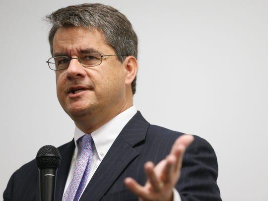 Tallahassee Democrat Publisher Skip Foster
