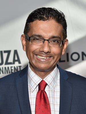"Dinesh D'Souza attends the premiere of ""America: Imagine the World Without Her"" on June 30, 2014, in Los Angeles."