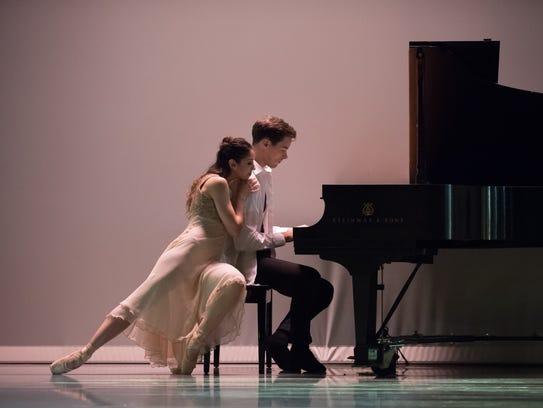 Christina LaForgia Morse and David Morse are seen in