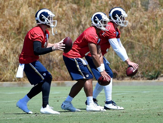 Rams rookie QBs