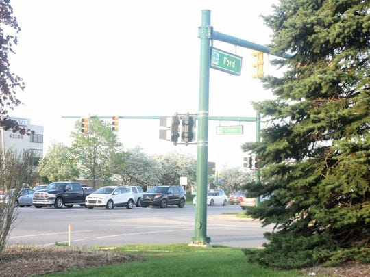 Don't let this serene vision of Canton's Ford-Lilley roads intersection fool you. It's one of the most dangerous in the state in terms of crashes and injuries.