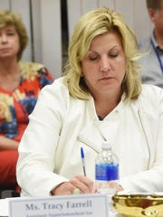 Tracy Farrell, assistant superintendent for curriculum,