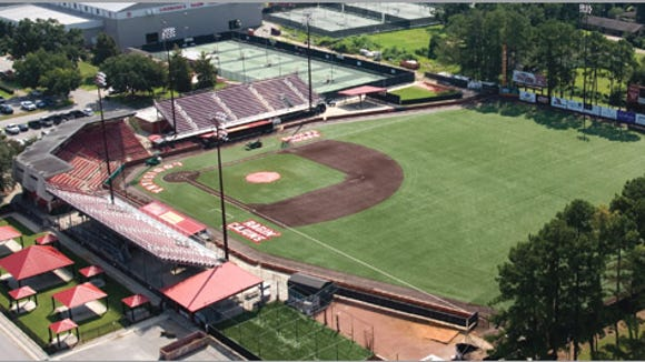 Mississippi State heads to Lafayette for the first round of the NCAA tournament. It plays at M.L. Tigue Moore Field, with a capacity of 3,755.