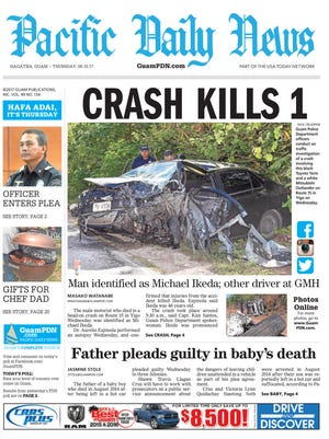 June 15, 2017, edition of the Pacific Daily News