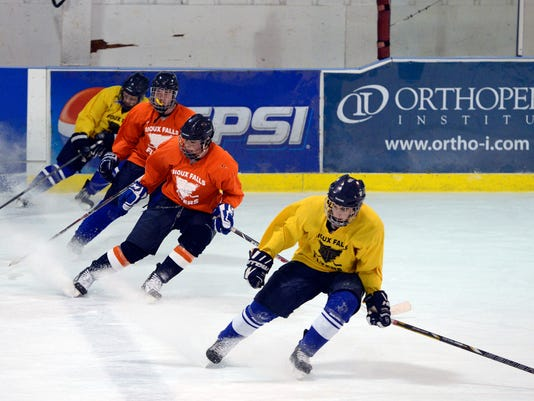 sioux falls flyers practice