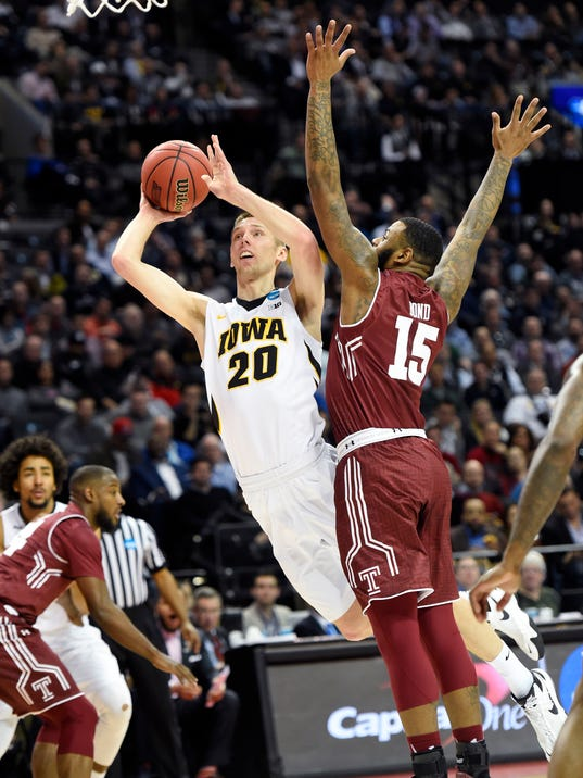 NCAA Basketball: NCAA Tournament-First Round-Iowa vs Temple