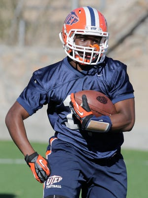 UTEP running back TK Powell rushed for more than 100 yards last week, after spending the first three months on the scout team.