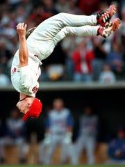 Stubby Clapp opens the Redbirds' 2000 season with a