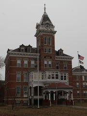 The Iowa Mental Health Institute at Clarinda.