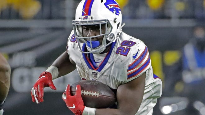 Devin Singletary averaged 5.1 yards a carry last season for the Bills, tied for tops in the NFL.