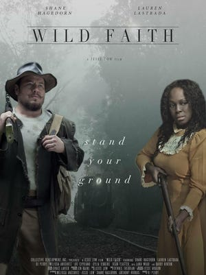 "Shane Hagadorn and Lauren LaStrada in ""Wild Faith,"" a locally produced movie."
