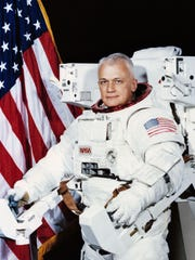 Astronaut Bruce McCandless, who died Friday at age