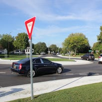 Will Carmel ticket for failing to signal in a roundabout?