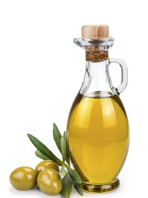 Try olive oil as a beneficial substitute for butter.