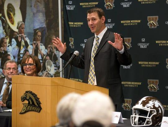 New Western Michigan University new head coach, Tim
