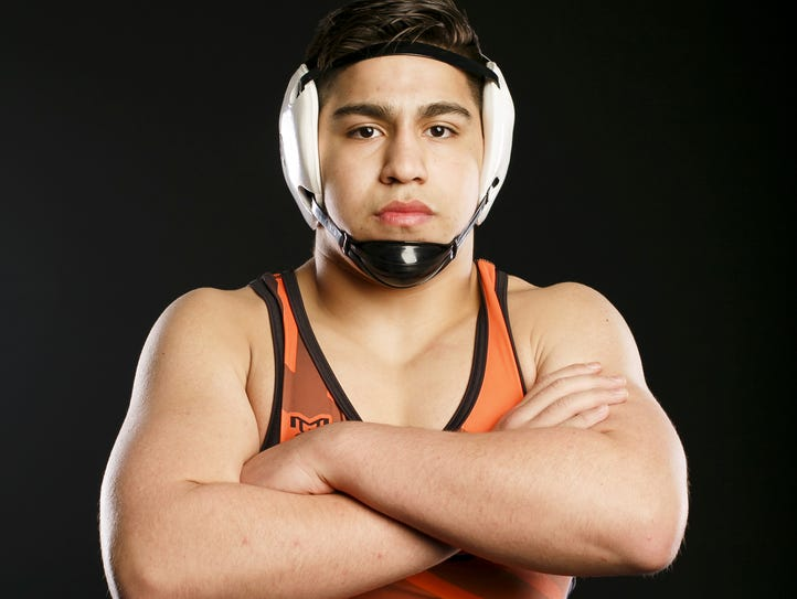 Sprague wrestler Santos Cantu III for the Statesman